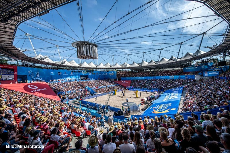 beachvolleyball wm2019 hamburg rothenbaum1