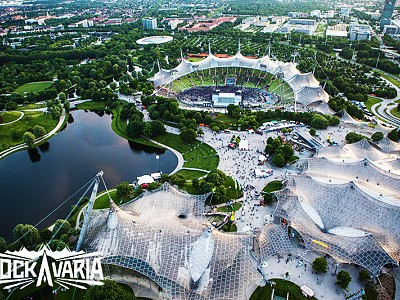 Rockavaria Festival Olympiapark Muenchen