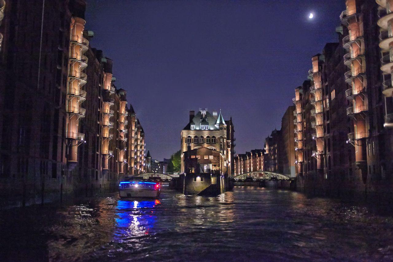 Lichterfahrt - Bei Nacht Hamburgs Hafen kennenlernen